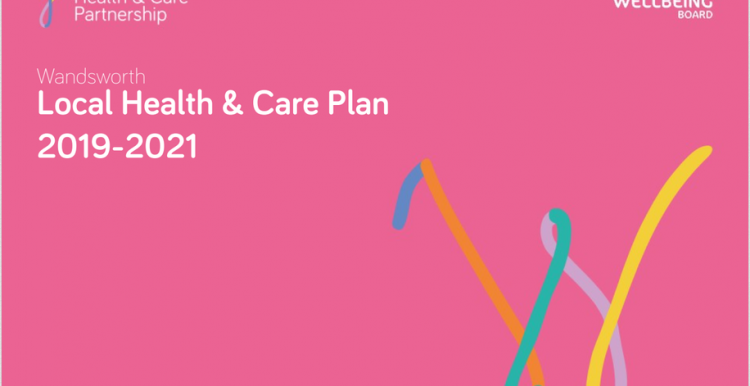 Picture of health and care plan front cover