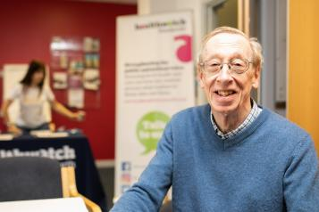 A man who attended the Healthwatch Wandsworth Assembly