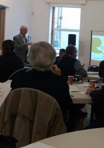 Health care professionals attend Healthwatch Asssembly