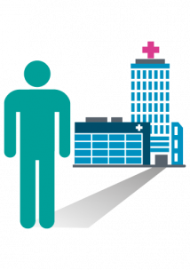 Health and care services graphic
