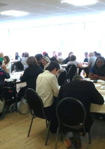 People attending our Health Inequalities event